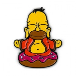 Figurine The Simpsons Homer Buddha Pin Email Kidrobot Boutique Geneve Suisse