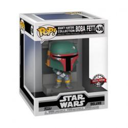Figurine Pop Deluxe Métallique Star Wars Episode V Boba Fett Bounty Hunters Edition Limitée Funko Boutique Geneve Suisse