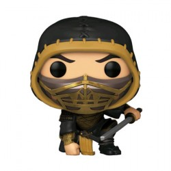 Figur Pop Metallic Mortal Kombat 2021 Scorpion Crouch Limited Edition Funko Geneva Store Switzerland