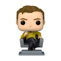 Figur Pop Star Trek The Original Series Captain Kirk in Chair Funko Geneva Store Switzerland