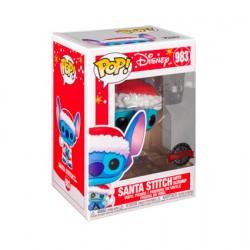 Figur Pop Disney Holiday Lilo and Stitch Santa Stitch with Scrump Limited Edition Funko Geneva Store Switzerland