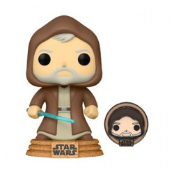 Figur Pop Star Wars Across The Galaxy Obi-Wan Kenobi Tatooine with Enamel Pin Limited Edition Funko Geneva Store Switzerland