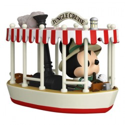 Figur Pop 15 cm Rides Jungle Cruise Skipper Mickey with Boat Funko Geneva Store Switzerland