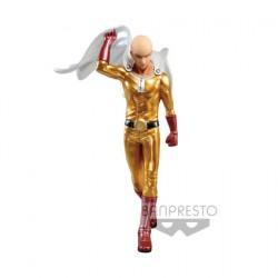 Figurine One Punch Man Saitama Couleur Métallique Banpresto Boutique Geneve Suisse