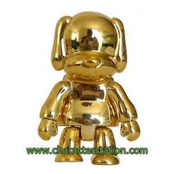 Figuren Toy2R Qee Dog Gold ohne Packung Toy2R Genf Shop Schweiz