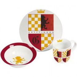 Figurine Harry Potter set petit déjeuner Gryffondor GedaLabels Boutique Geneve Suisse