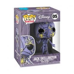 Figurine Pop L'Étrange Noël de Mr Jack Jack Artist Serie Purple & Yellow dans Boîte de Protection Acrylique Edition Limitée F...
