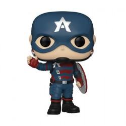 Figurine Pop The Falcon and the Winter Soldier Captain America Funko Boutique Geneve Suisse