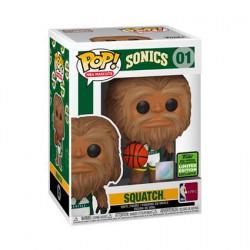 Figuren Pop ECCC 2021 NBA Mascots Sonic Squatch Limitierte Auflage Funko Genf Shop Schweiz
