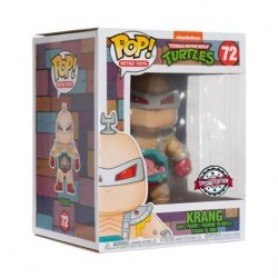 Figurine Pop 15cm Teenage Mutant Ninja Turtles Krang Edition Limitée Funko Boutique Geneve Suisse