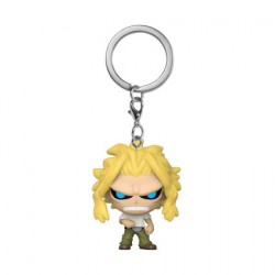Figurine Pop Pocket Porte-Clés My Hero Academia All Might Weakened State Funko Boutique Geneve Suisse