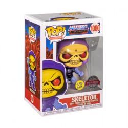 Figurine Pop Phosphorescent Les Maîtres de l'Univers Skeletor Edition Limitée Funko Boutique Geneve Suisse