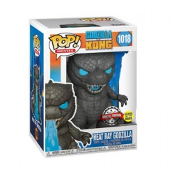 Figur Pop Glow in the Dark Godzilla vs Kong Godzilla Heat Ray Limited Edition Funko Geneva Store Switzerland