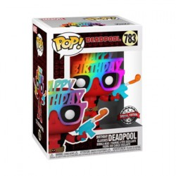 Figur Pop Deadpool Birthday Glasses 30th Anniversary Limited Edition Funko Geneva Store Switzerland