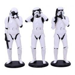 Figurine Original Stormtrooper pack 3 figurines Three Wise Stormtroopers Nemesis Now Boutique Geneve Suisse