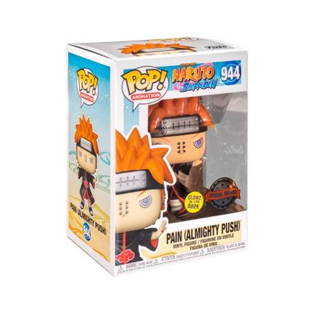 Figurine Pop Phosphorescent Naruto Shippuden Pain with Shinra Tensei Edition Limitée Funko Boutique Geneve Suisse