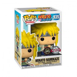Figurine Pop Phosphorescent Naruto Shippuden Minato Chase Edition Limitée Funko Boutique Geneve Suisse