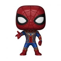 Figuren Pop Metallisch Marvel Avengers Infinity War Iron Spider (Selten) Funko Genf Shop Schweiz