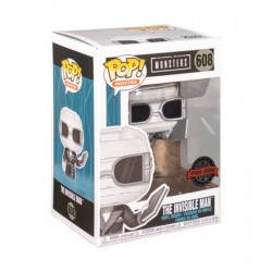 Figur Pop Universal Monsters The Invisible Man Black & White Limited Edition Funko Geneva Store Switzerland