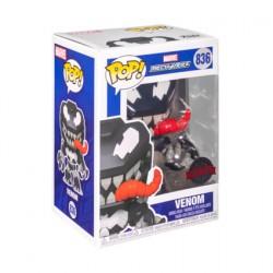 Figurine Pop Marvel Mech Strike Venom Edition Limitée Funko Boutique Geneve Suisse