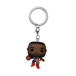 Figurine Pop Pocket Porte Clé Space Jam LeBron James Funko Boutique Geneve Suisse