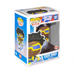 Figur Pop DC Justice League Static Shock Limited Edition Funko Geneva Store Switzerland