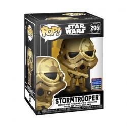 Figuren Pop WC2021 Star Wars Stormtrooper Gold Limitierte Auflage Funko Genf Shop Schweiz