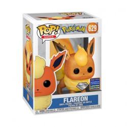 Figur Pop WC2021 Pokemon Flareon Diamond Glitter Limited Edition Funko Geneva Store Switzerland