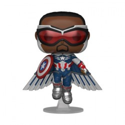 Figur Pop The Falcon and the Winter Soldier Captain America Flying Limited Edition Funko Geneva Store Switzerland