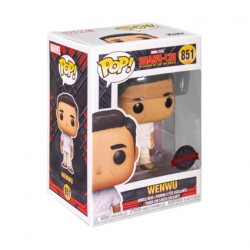 Figur Pop Marvel Shang-Chi and the Legend of the Ten Rings Wenwu in White Outfit Limited Edition Funko Geneva Store Switzerland