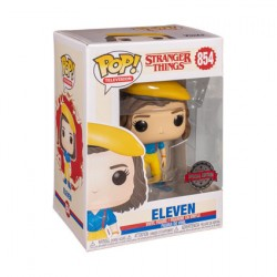 Figurine Pop Stranger Things Eleven in Yellow Outfit Edition Limitée Funko Boutique Geneve Suisse