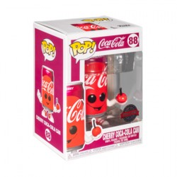 Figur Pop Coca-Cola Cherry Coke Can Limited Edition Funko Geneva Store Switzerland
