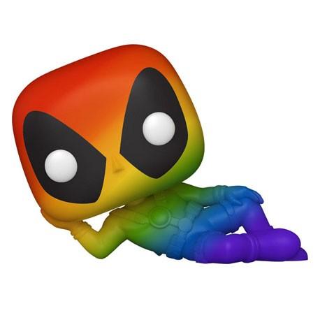 Figur Pop Pride Marvel Deadpool RNBW Funko Geneva Store Switzerland