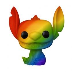 Figurine Pop Pride Disney Lilo et Stitch Stitch Arc-en-Ciel Funko Boutique Geneve Suisse