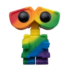 Figurine Pop Disney Pixar Pride Wall-E Arc-en-Ciel Funko Boutique Geneve Suisse
