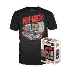 Figurine Pop et T-shirt Star Wars The Mandalorian Moff Gideon Edition Limitée Funko Boutique Geneve Suisse
