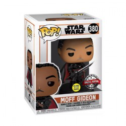 Figur Pop Glow in the Dark Star Wars The Mandalorian Moff Gideon Limited Edition Funko Geneva Store Switzerland
