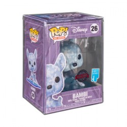Figur Pop Artist Series Bambi Snowflakes Hard Acrylic Protector Limited Edition Funko Geneva Store Switzerland