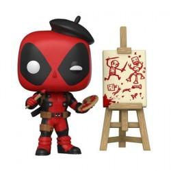 Figurine Pop Marvel Deadpool Artist Edition Limitée Funko Boutique Geneve Suisse