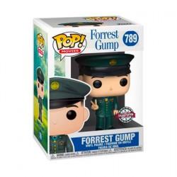 Figurine Pop Forrest Gump avec Medaille Edition Limitée Funko Boutique Geneve Suisse