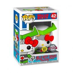 Figuren Pop Phosphoreszierend Hello Kitty Space Kaiju Kitty Limitierte Auflage Funko Genf Shop Schweiz