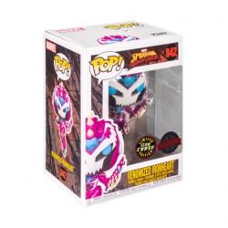 Figurine Pop Phosphorescent Marvel Spider-Man Maximum Venom Venomized Ironheart Chase Edition Limitée Funko Boutique Geneve S...