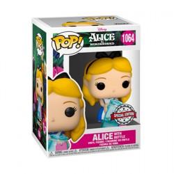 Figurine Pop Disney Alice au Pays des Merveilles Alice avec Bouteille Edition Limitée Funko Boutique Geneve Suisse