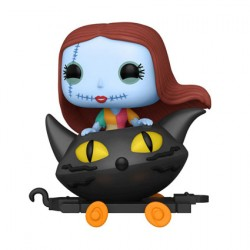 Figur Pop Disney Train Cart Nightmare before Christmas Sally in Cat Cart Funko Geneva Store Switzerland