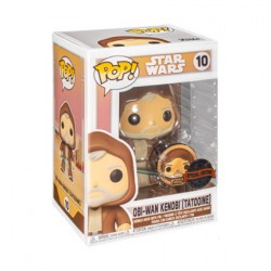 Figur Pop Star Wars Across The Galaxy Obi-Wan Kenobi Tatooine with Enamel Pin Limited Edition Funko Geneva Store Switzerland