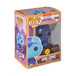 Figurine Pop Phosphorescent Avatar the Last Airbender Spirit Aang Edition Limitée Funko Boutique Geneve Suisse