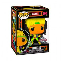 Figurine Pop Marvel Blacklight Rogue Edition Limitée Funko Boutique Geneve Suisse