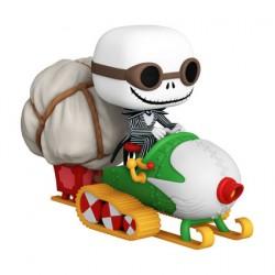 Figurine Pop Rides Disney L'étrange Noël de Mr. Jack Jack avec Lunettes et Motoneige Funko Boutique Geneve Suisse