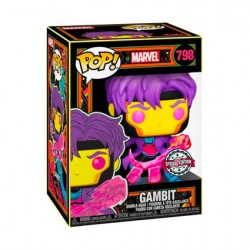 Figur Pop Marvel Blacklight Gambit Limited Edition Funko Geneva Store Switzerland
