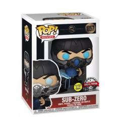 Figurine Pop Phosphorescent Mortal Kombat 2021 Sub-Zero Edition Limitée Funko Boutique Geneve Suisse